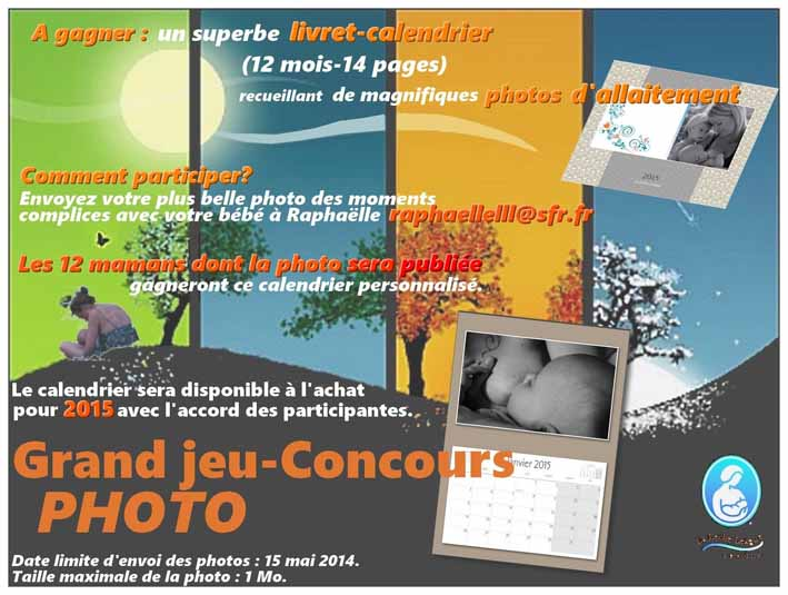 Affiche jeu-concours calendrier LLLF 2015 marge